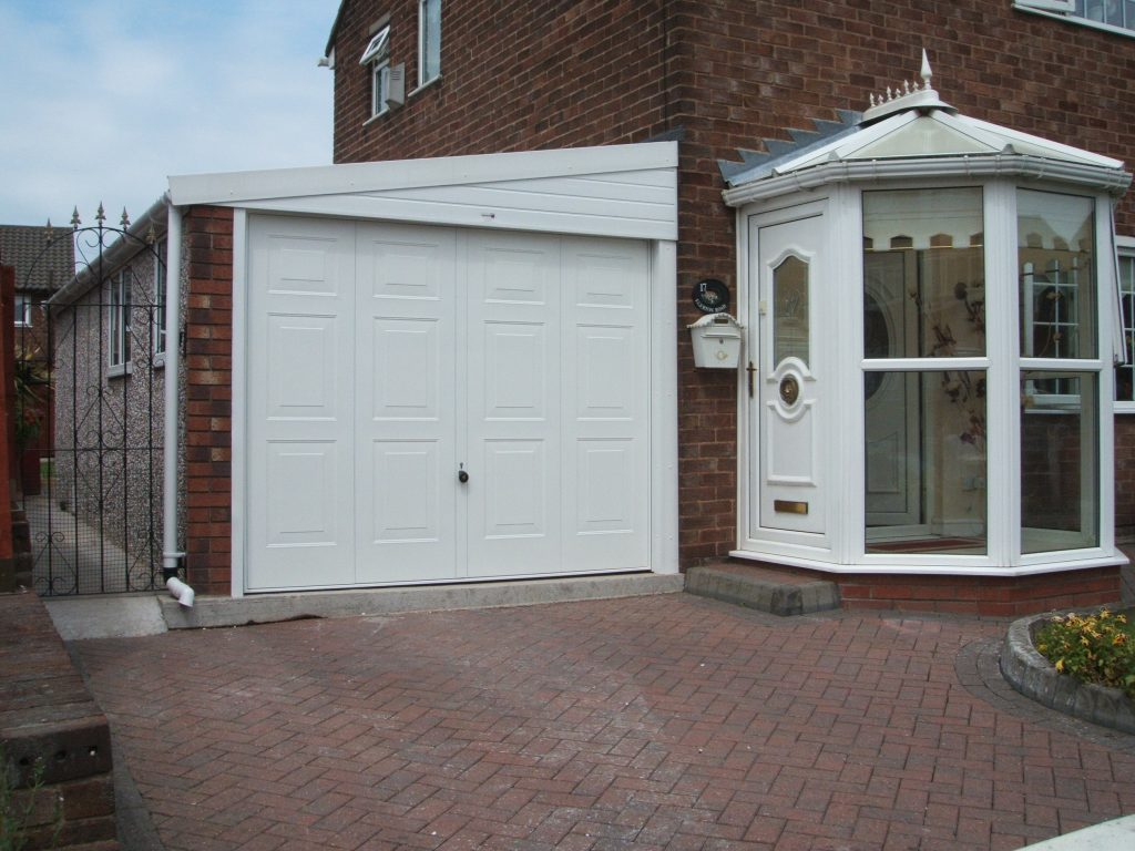 Lean to garages the ideal home garage garages direct for Lean to addition to garage